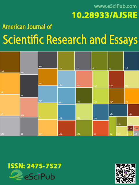 American Journal of Scientific Research and Essays1