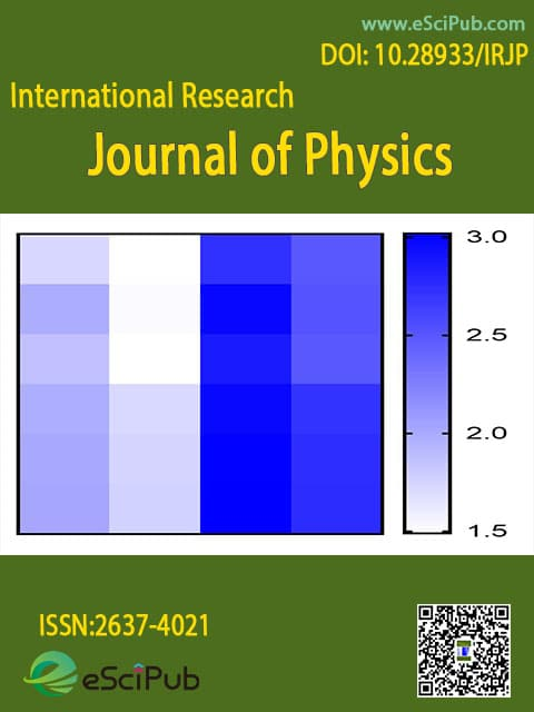 International Research Journal of Physics