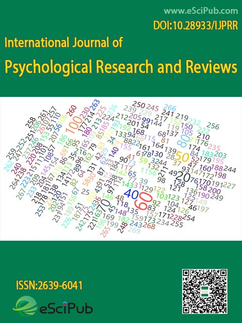 International journal of psychological research and reviews